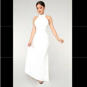 Royal debut dress (white) size xs